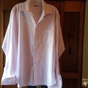 Men's Burberry London Shirt 16 1/2 French Cuff